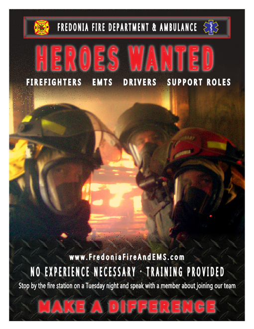 Heroes Wanted Poster